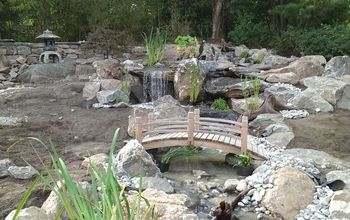 Large PONDLESS WATERFALL Project in RYE, NY