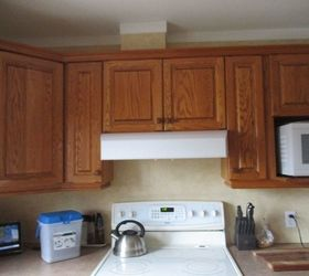 Q Looking To Update Honey Oak Cabinets And Kitchen