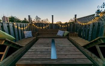 pressure treated outdoor table