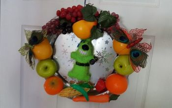 New Years Resolution Wreath