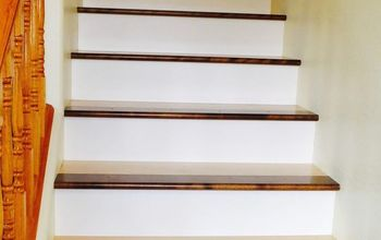 How To Update Carpeted Stairs Into A Wooden Staircase
