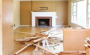 how to demo trim to save money on a renovation