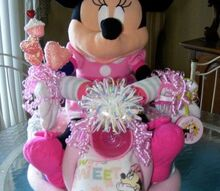 minnie mouse diaper bike