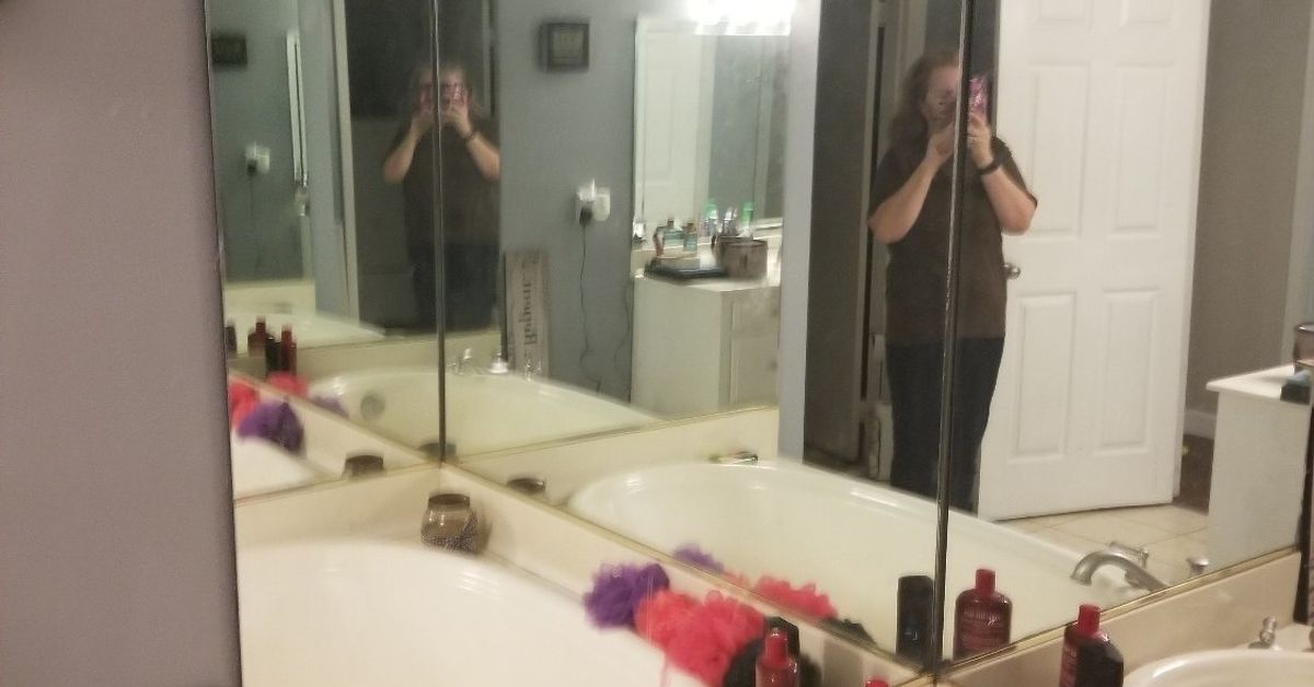 How To Remove Large Mirrors On A Wall Hometalk