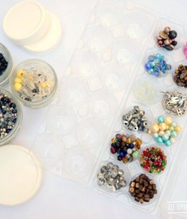 s these bloggers came up amazing organization ideas, Craft Supplies Organization