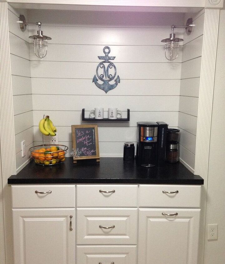 Completed coffee bar!