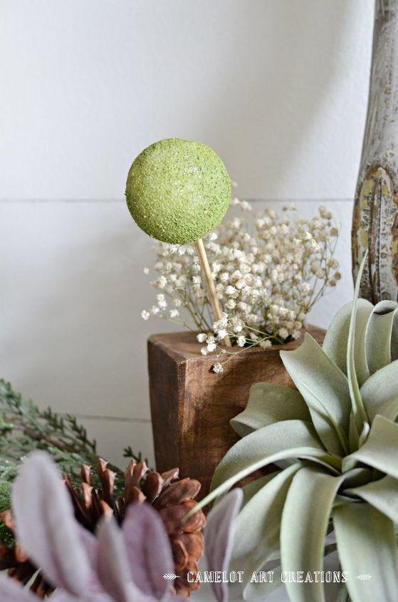 diy faux topiary