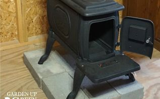 how to install a tiny wood stove