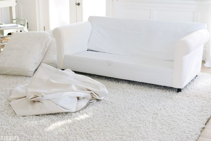 how to naturally clean slipcovers