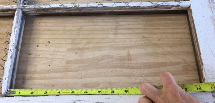 s 3 wonderful ways you can upcycle old windows, Step 2 Measure width of window rectangles