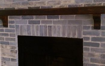Learn How To Re-Paint Your Fireplace!