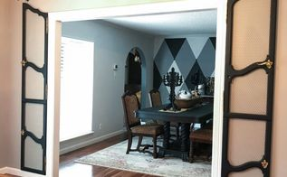 how to repurpose furniture doors as decorative wall shutters