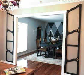 how to repurpose furniture doors as decorative wall shutters & How to Repurpose Armoire Furniture Doors as Decorative Wall Shutters ...