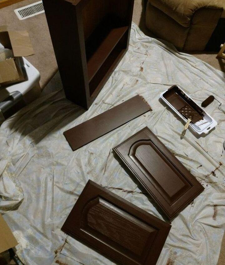old cabinet to refurbished stylish cabinet