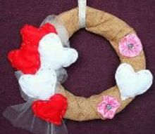 valentine s day wreath