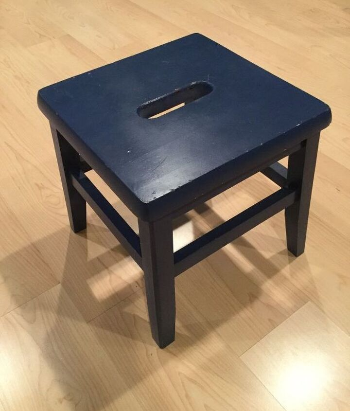 up cycle an old step stool