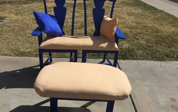 Turning Two Chairs Into Bench