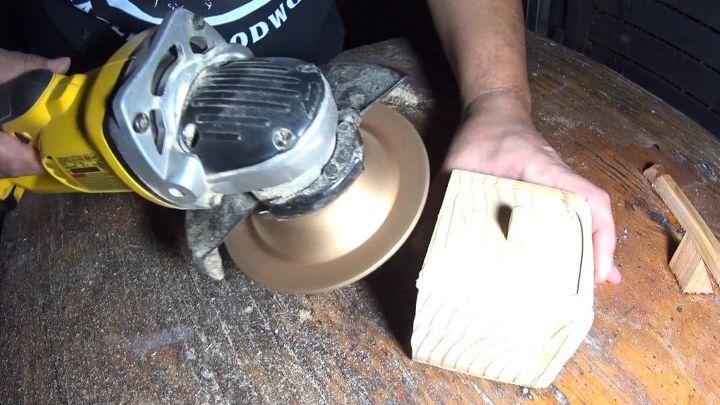 primitive little keepsake box, distressing wood