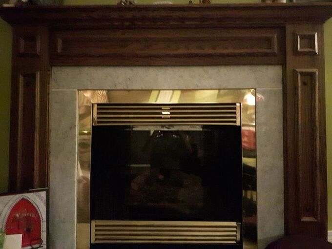q can i paint over the brass part of my fireplace