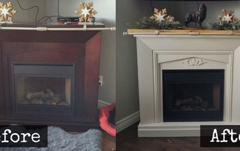 Stunning Fireplace Makeover