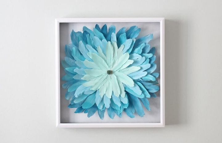s 25 fabulous feather projects that you don t want to miss, DIY Juju Inspired Art