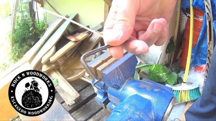 a fun diy bottle opener to make, Bending nails