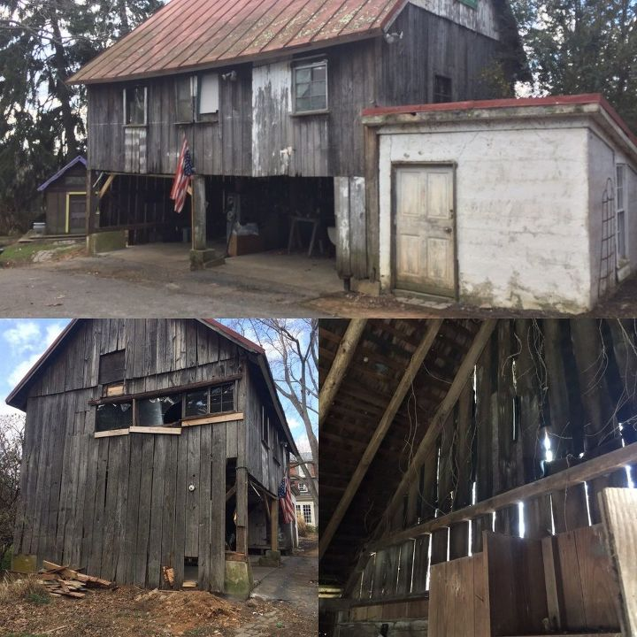 the renovation of our old barn phase 1