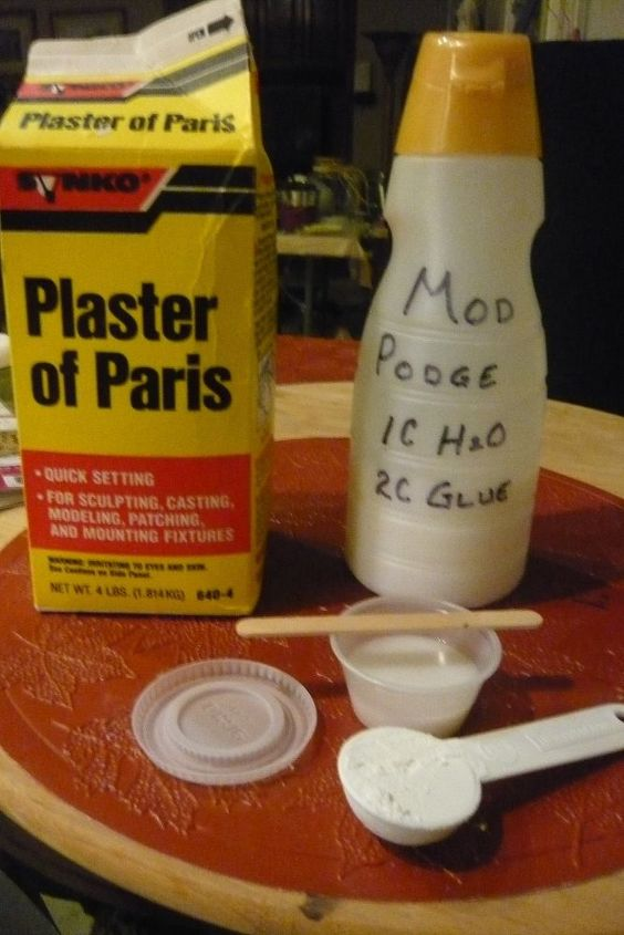 mom podge the mother of gesso and modeling paste