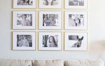 grid style gallery wall tricks for creating a stunning feature wall