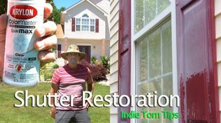 Best Way To Paint Shutters Without Removing Hometalk