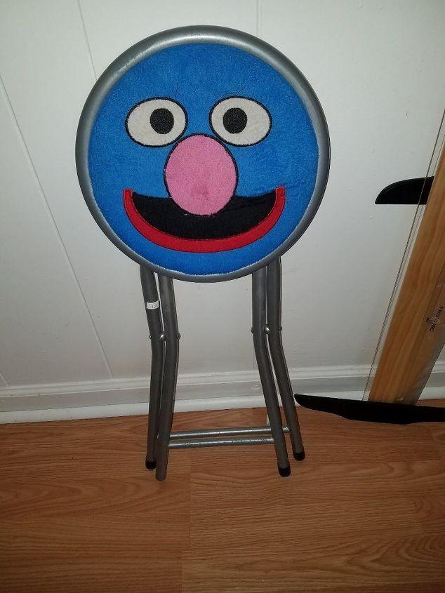 folding stool refurbish