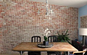 Real Thin Brick Accent Wall