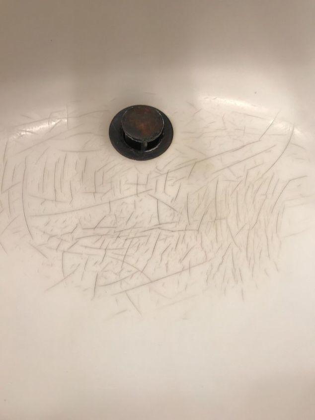 q how do i fix formica sink