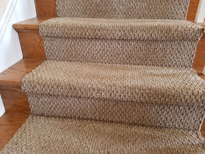 q carpeted stairs