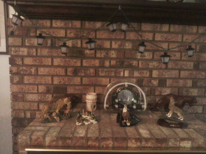 q looking to change the color of my brick fireplace to maroon color