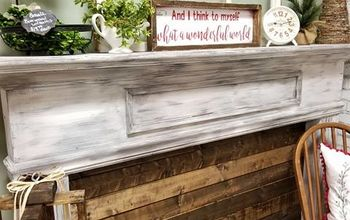 HOW TO: Mantle Makeover DIY