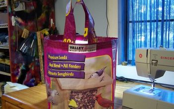 feed sack totes