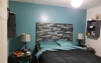 Bed Room Make Over Continued Rustic Headboard