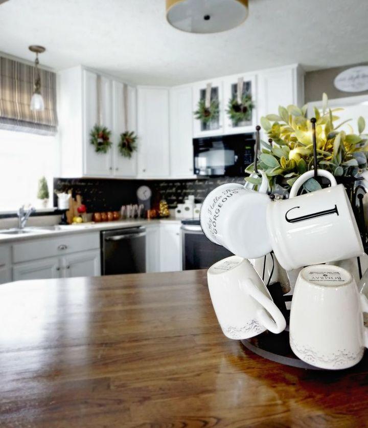 Diy Kitchen Backsplash: DIY French Stenciled Backsplash