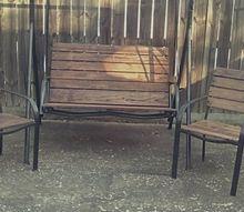 porch swing redo