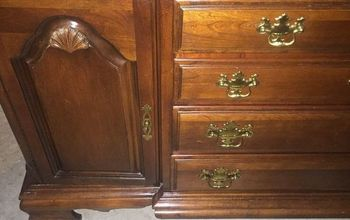 Outdated Dresser Turned Dandy Island