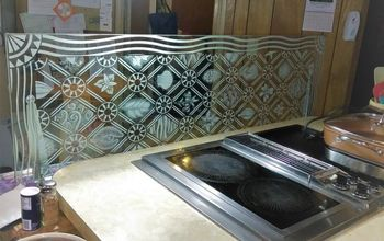 Tempered Glass Backsplash Hometalk