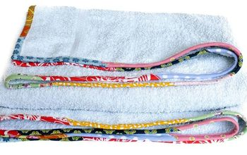 refresh old frayed towels