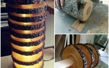 How to Make a Spectacular Floor Lamp With Logs