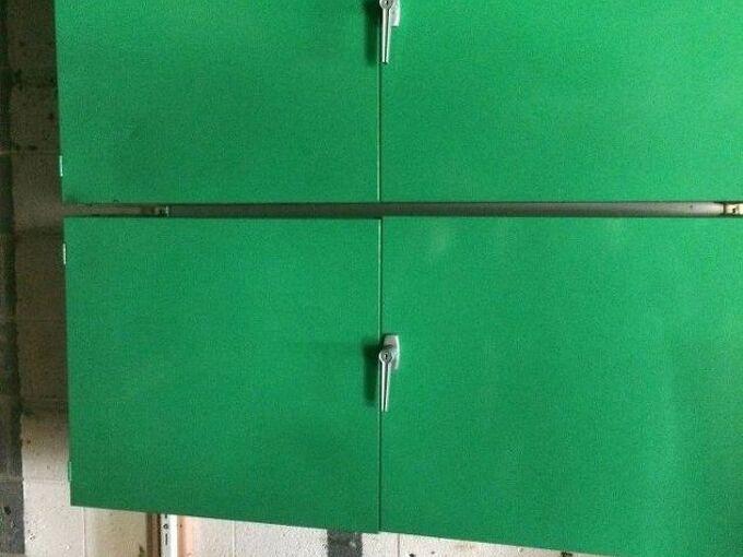 re using metal garage cabinets