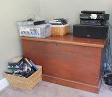farmhouse style storage for dvd s xbox games