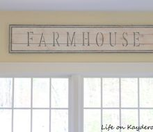 how to make a rustic farmhouse sign using stencils
