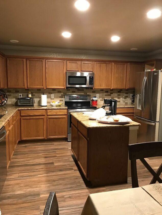 q kitchen make over