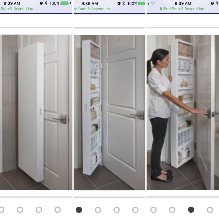 q are there special door hinges that can hold a hidden storage shelf