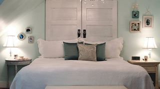 q any ideas for a king size bed headboard